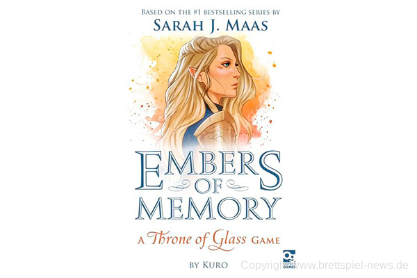 EMBERS OF MEMORY: A THRONE OF GLASS // Kooperatives Spiel für zwei