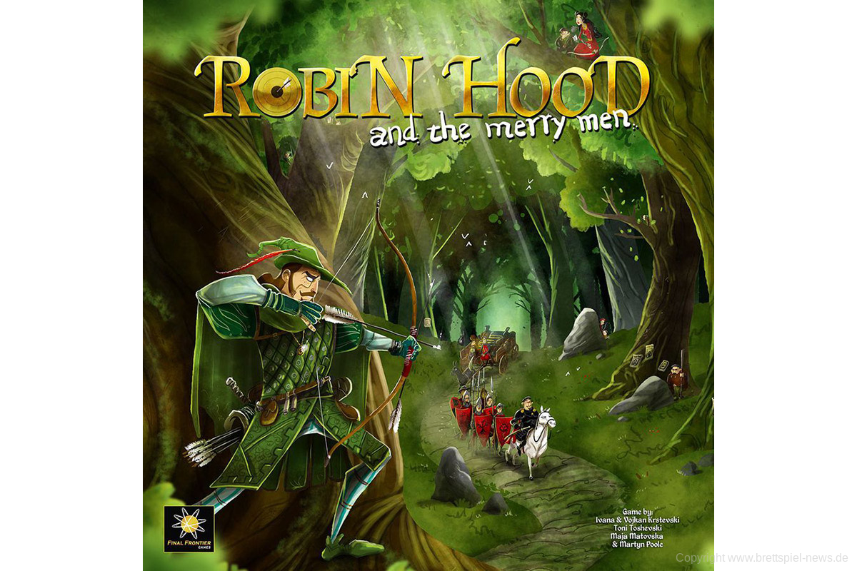ROBIN HOOD AND THE MERRY MAN // Erscheint in Deutschland