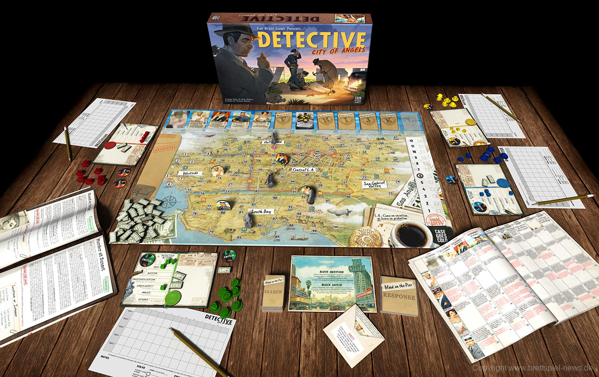 detective Gamelayout