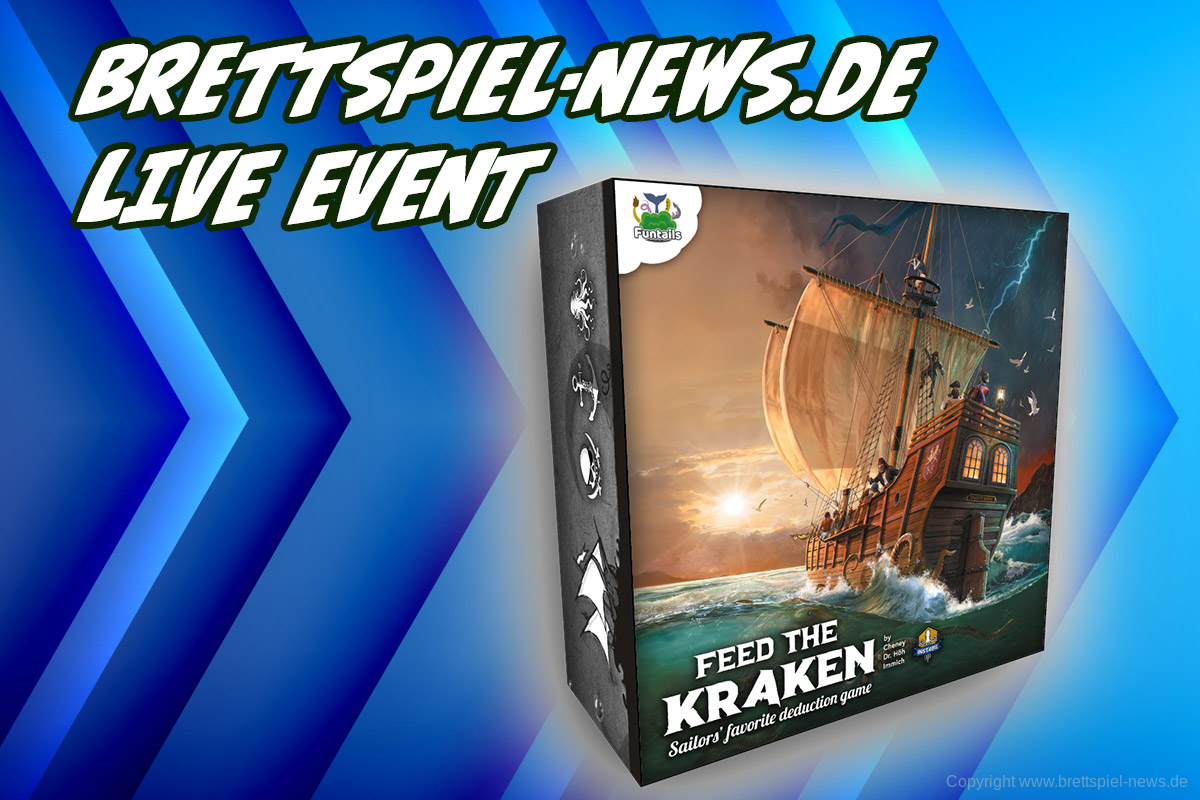 BSN LIVE-EVENT // FEED THE KRAKEN im Livestream