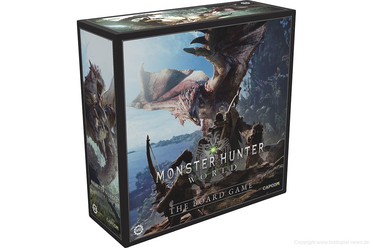 Monster Hunter World Brettspiel Startet 2021 Auf Kickstarter