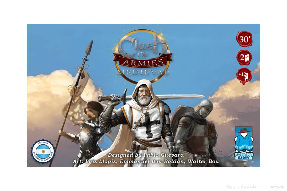 KICKSTARTER // CLASH OF ARMIES startet am 12.11.2020
