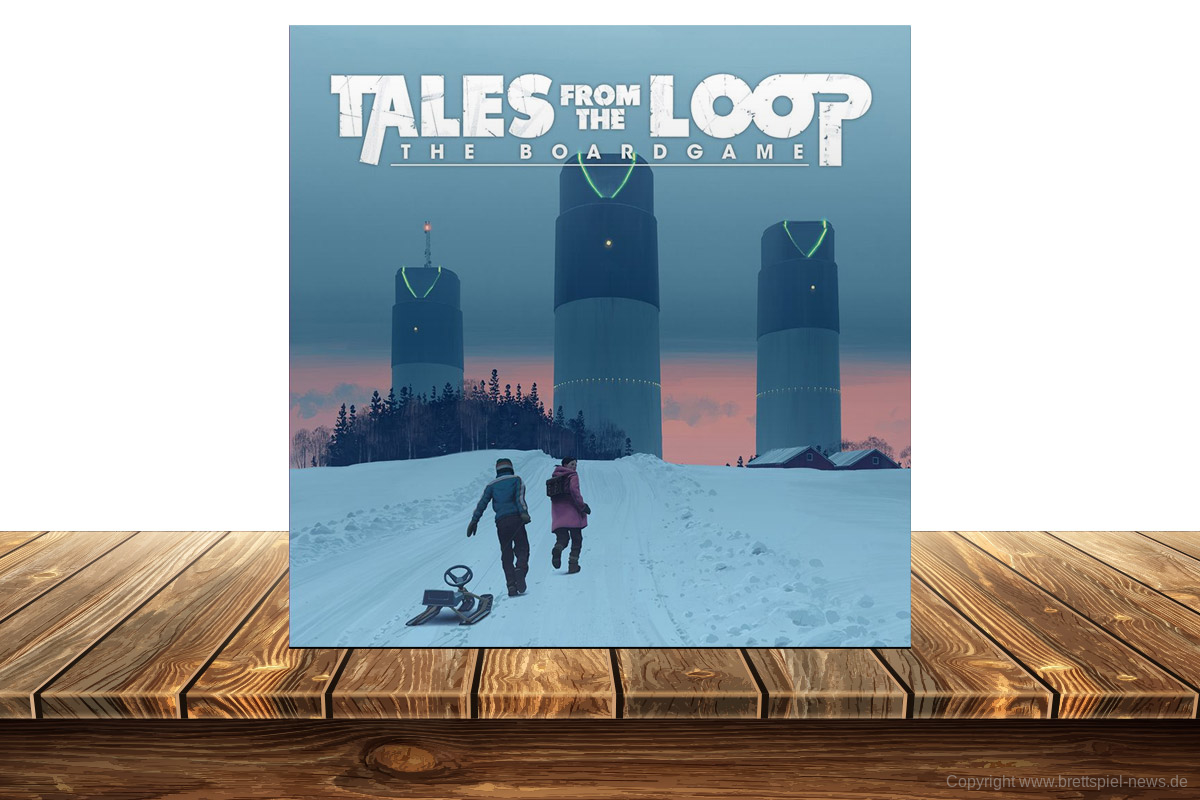 KICKSTARTER // TALES FROM THE LOOP – THE BOARDGAME