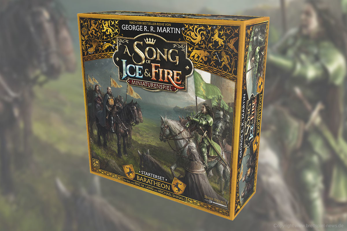 A SONG OF FIRE AND ICE // BARTHEON STARTERSET bald im Handel