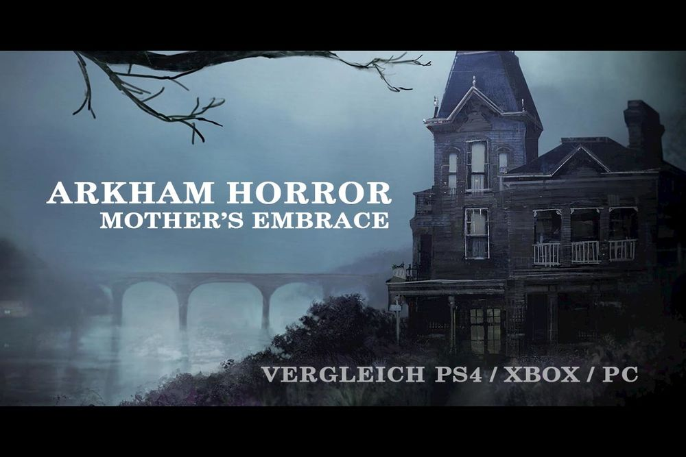 ARKHAM HORROR: MOTHER'S EMBRACE // PS4 vs. XBOX ONE