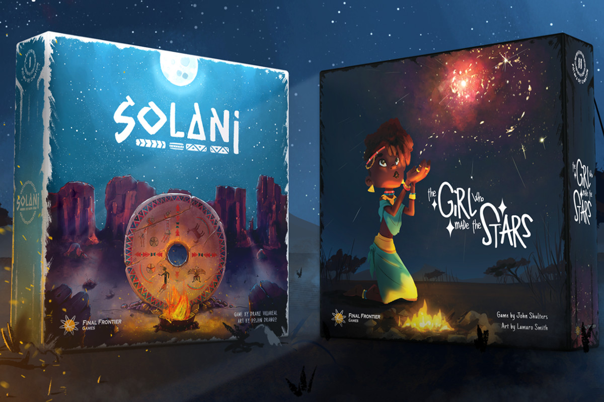 SOLANI & THE GIRL WHO MADE THE STARS