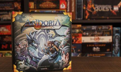 ANDORIA BATTLEFIELDS // Bilder vom Spielmaterial