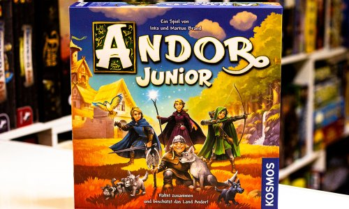TEST // ANDOR JUNIOR