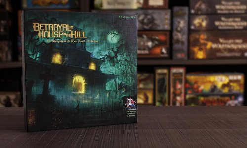 TEST // BETRAYAL AT HOUSE ON THE HILL (dt.)