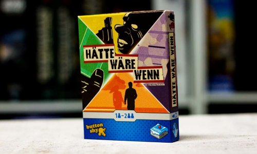 HÄTTE WÄRE WENN // Spiel für 1-2 Spielende
