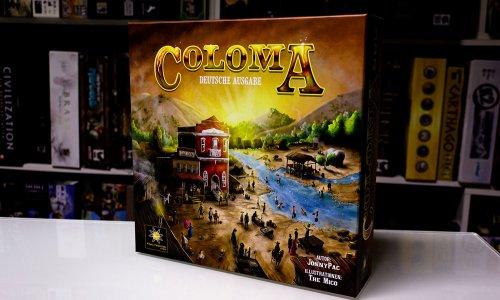 COLOMA // Bilder vom Spielmaterial