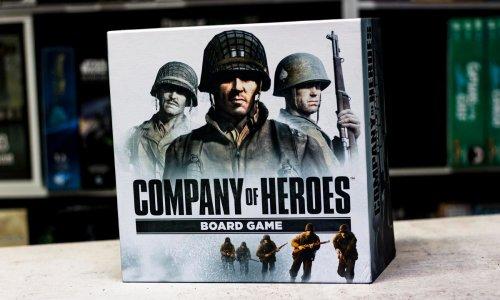 COMPANY OF HEROES // das Brettspiel ist ausgeliefert