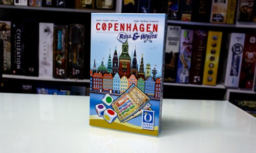 COPENHAGEN ROLL & WRITE // Bilder vom Spiel