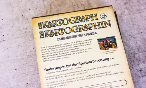 DER KARTOGRAPH & DIE KARTOGRAPHIN: UNBEKANNTE LANDE // ist erschienen