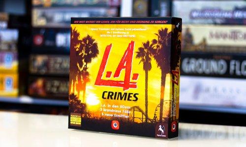 DETECTIVE // L.A. Crimes - Bilder vom Spielmaterial