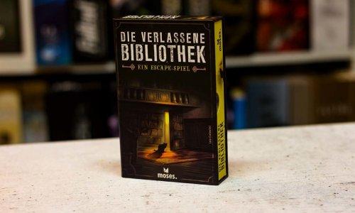 TEST // DIE VERLASSENE BIBLIOTHEK – EIN ESCAPE-SPIEL
