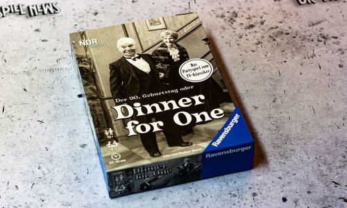 DINNER FOR ONE // Bilder vom Spiel