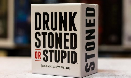 TEST // DRUNK, STONED OR STUPID