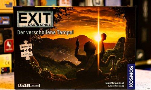 TEST // EXIT – Das Spiel + Puzzle – Der verschollene Tempel