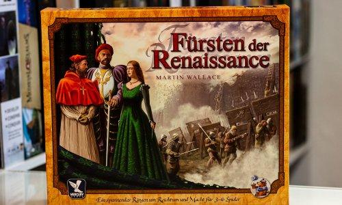 FÜRSTEN DER RENAISSANCE // Bilder vom Martin Wallace Klassiker