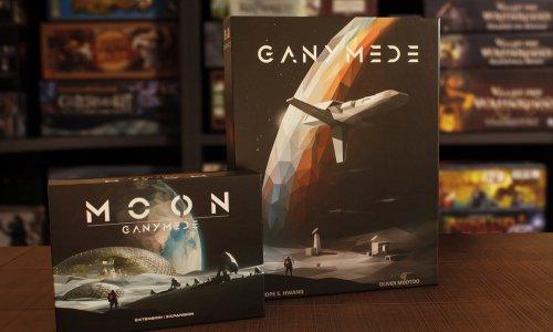 GANYMEDE // Bilder vom Spielmaterial