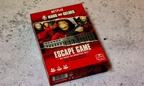 HAUS DES GELDES – ESCAPE GAME // Bilder vom Spiel