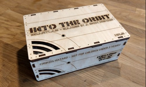 INTO THE ORBIT // startet demnächst auf Kickstarter