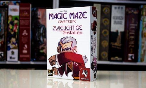 TEST // MAGIC MAZE - ZWIELICHTIGE GESTALTEN