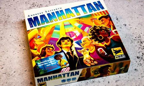 MANHATTAN // Neuauflage des Spiel des Jahres 1994