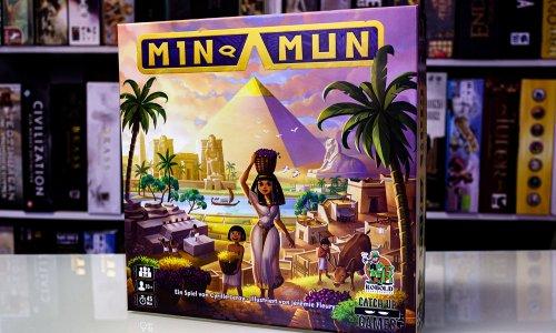 MIN-AMUN // Bilder vom Spielmaterial