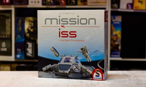 TEST // MISSION ISS