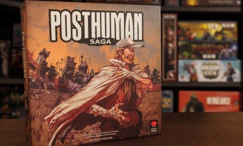 POSTHUMAN SAGA // Bilder vom Spielmaterial