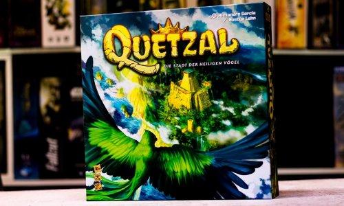 QUETZAL – DIE STADT DER HEILIGEN VÖGEL // ist im Handel verfügbar