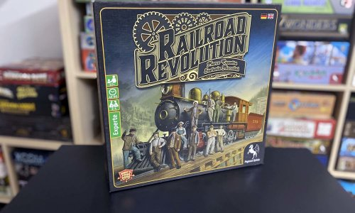 TEST // RAILROAD REVOLUTION