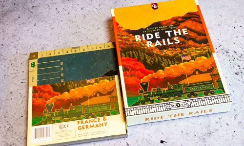 RIDE THE RAILS // Bilder vom Spiel