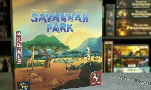 Savannah Park   neues Spiel von Michael Kiesling und Wolfgang Kramer