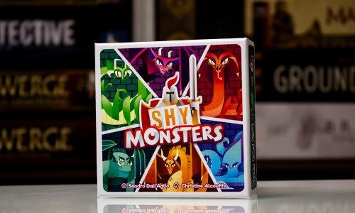 SHY MONSTERS // erscheint in Kürze bei Boardgame Circus