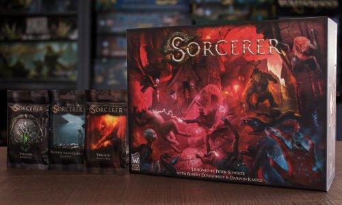 SORCERER // Bilder vom Spielmaterial