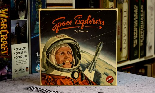 TEST // SPACE EXPLORERS