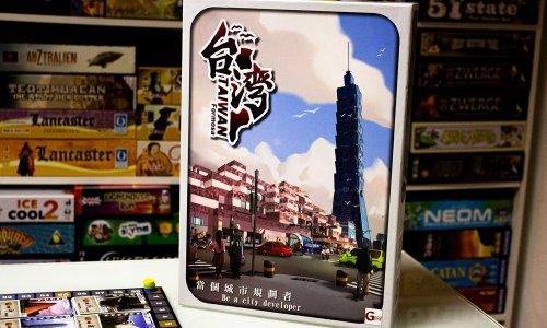 TAIWAN // Bilder vom Spielmaterial