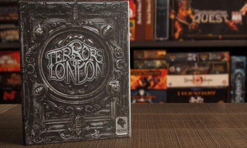 TERRORS OF LONDON // Bilder vom Spielmaterial
