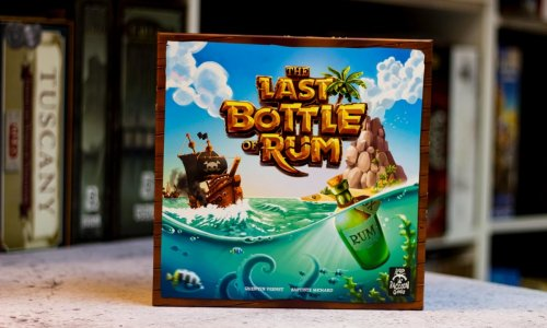 TEST // THE LAST BOTTLE OF RUM