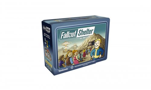 FALLOUT SHELTER // Brettspiel angekündigt