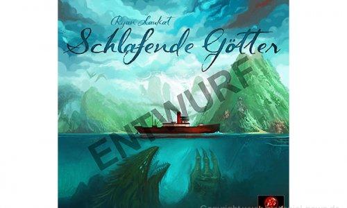 SCHLAFENDE GÖTTER // erscheint 2020 beim Schwerkraft Verlag