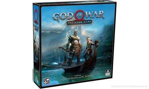 GOD OF WAR: THE CARD GAME // soll 2019 erscheinen