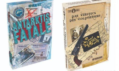 DETECTIVE STORIES // Zwei neue Fälle bald im Handel