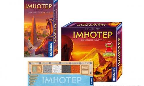 IMHOTEP // Bundle mit Erweiterung und Spielmatte
