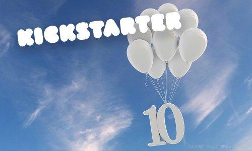 KICKSTARTER // 10. Jahre Kickstarter