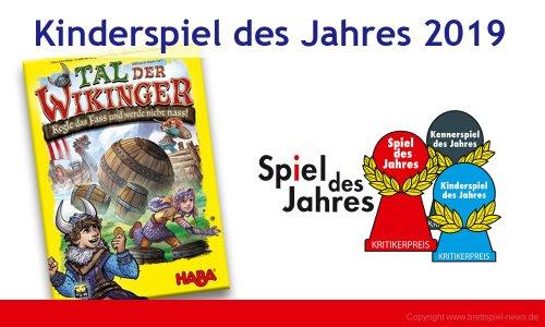 KINDERSPIEL DES JAHRES 2019 // Tal der Wikinger