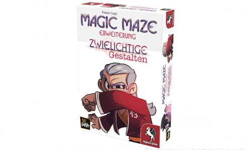 MAGIC MAZE // Zwielichtige Gestalten – Erweiterung erhältlich